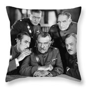 Hard-boiled Haggerty, 1927 Throw Pillow by Granger