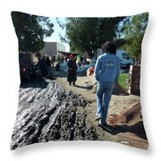 Hard Rock Morocco Throw Pillow