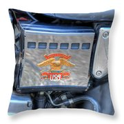 Harley Davidson 1 Throw Pillow