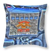 Harley Davidson 2 Throw Pillow