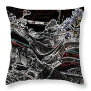 Harley Davidson Style 3 Throw Pillow