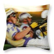 Harness Racing 13 Throw Pillow