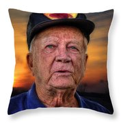 Harold In The Park Throw Pillow