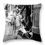 Harold Lloyd (1889-1971) Throw Pillow