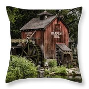 Harpers Mill Throw Pillow