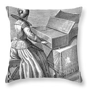 Harpsichord, 1723 Throw Pillow