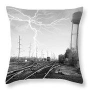 Harrington Rr Throw Pillow