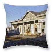 Harrington Yard Office Throw Pillow