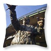 Harry Cary Sculpture Throw Pillow by Sven Brogren