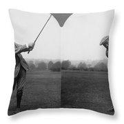 Harry Vardon (1870-1937) Throw Pillow