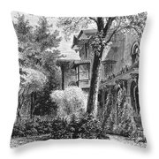 Hartford: Armsear Mansion Throw Pillow