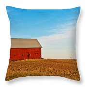 Harvest Is In Throw Pillow