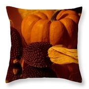 Harvest Reflections Throw Pillow
