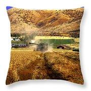 Harvest Time Throw Pillow