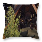 Harvester Working Parts 2 Throw Pillow