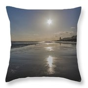 Hastings Sunset Throw Pillow