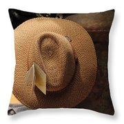 Hat For Sale - Sooc Throw Pillow