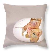 Hatching Chicken 10 Of 22 Throw Pillow