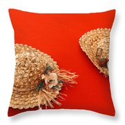 Hats Throw Pillow