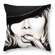 Hats Only Throw Pillow