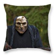 Haunted Goblin Throw Pillow