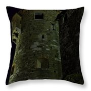Haunted Tower Throw Pillow