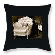 Have A Chair Throw Pillow