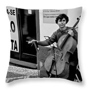 Have Cello Will Play Throw Pillow