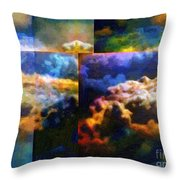 Have I Died And Gone Somewhere I Don't Believe In? Throw Pillow