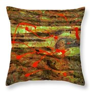 Have You Done The Paint Dance? Throw Pillow