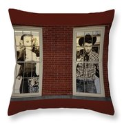 Have You Two Met Throw Pillow