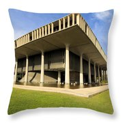 Hawaii Capitol Building Throw Pillow