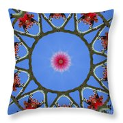 Hawaiian Flora Throw Pillow