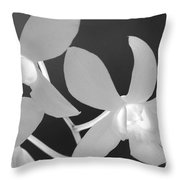 Hawaiian Floral Detail Throw Pillow