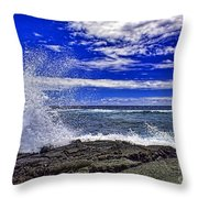Hawaiian Surf Throw Pillow