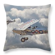 Hawker Demon Throw Pillow