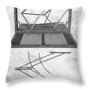Hawkins Polygraph, 1803 Throw Pillow