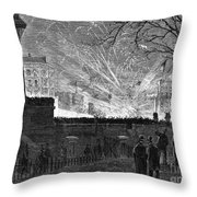 Hayes Inauguration, 1877 Throw Pillow by Granger
