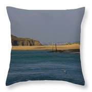 Hayle Harbour Throw Pillow