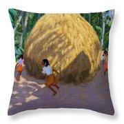 Haystack Throw Pillow