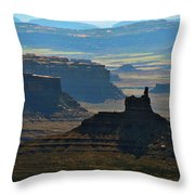 Haze Throw Pillow