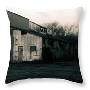 He Ginning Systems Throw Pillow