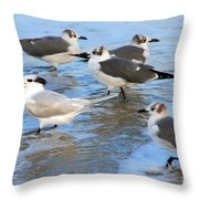 He Is The One Throw Pillow by Susanne Van Hulst