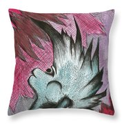 Headbanger Throw Pillow