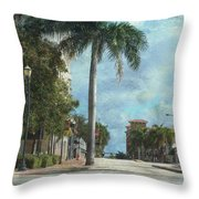 Headed To Hutchinson Throw Pillow by Trish Tritz