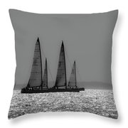 Heading Home Bramble Bank Throw Pillow