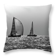 Heading Home Solent Throw Pillow