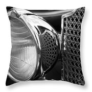 Headlamp Throw Pillow