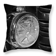 Headlamp Out Throw Pillow