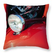 Headlight 6 Throw Pillow